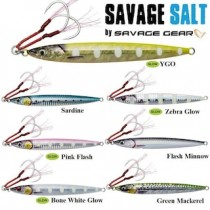 Savage salt 3d Slim Jig Minnow 60gr 125mm