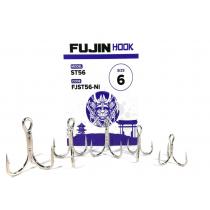 Fujin ST56 Üçlü Maket Balık İğnesi Nickel 1-0 no
