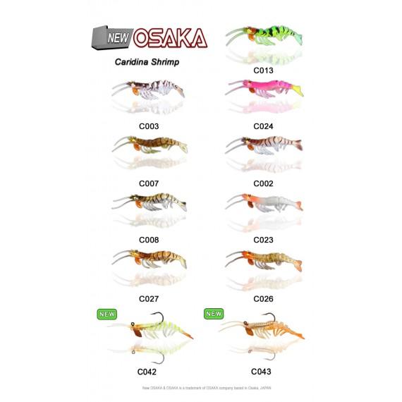 Osaka Caridina  7.62 cm 6.5gr Silikon Karides