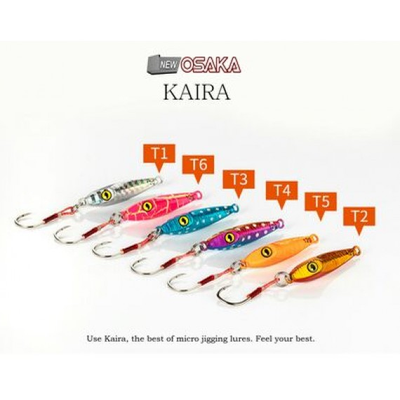 Osaka Kaira Micro Jigging Lure (Mini Jig)