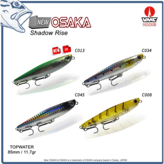 Osaka Shadow Rise Su üstü (Topwater) Maket Yem