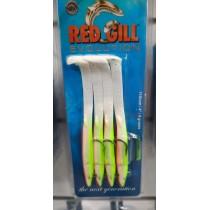 Redgill Evolution 11.5cm 4gr Yeşil Turuncu Silikon Yem