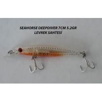 Seahorse Deepdiver 7cm 5.2gr Levrek sahtesi